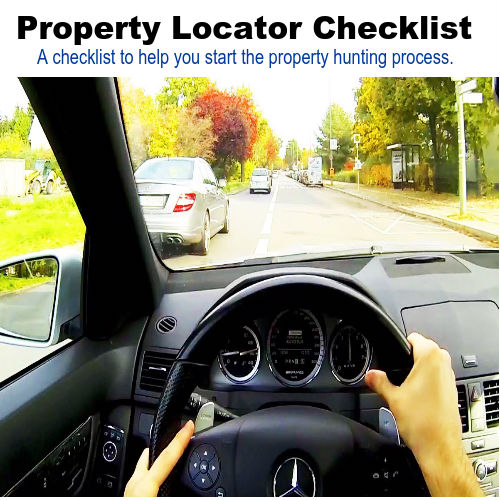 GIC Deal Finder Property Locator Checklist